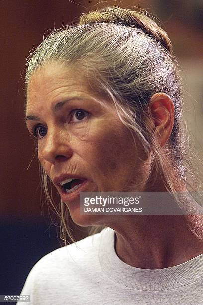 Leslie Van Houten expresses remorse in the killings of the LaBianca couple to members of the Board of Prison Terms commissioners during her parole...