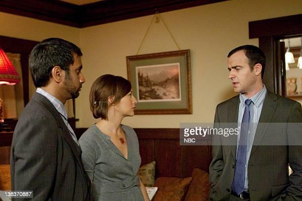 RECREATION Leslie's House Episode 215 Pictured Aziz Ansari as Tom Haverford Rashida Jones as Ann Perkins Justin Theroux as Justin