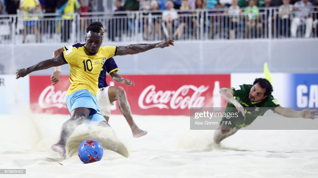Bahamas v Ecuador - FIFA Beach Soccer World Cup Bahamas 2017 : ニュース写真