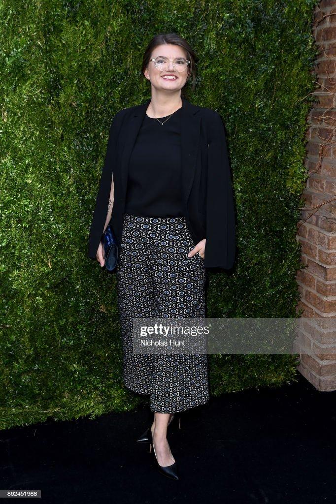 Leslye Headland attends Through Her Lens: The Tribeca Chanel Women's Filmmaker Program Luncheon at Locanda Verde on October 17, 2017 in New York City.