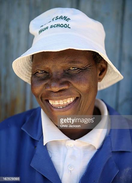Lesotho women pose for a photo on February 22 2013 in Morija Lesotho Sentebale is a charity founded by Prince Harry and Prince Seeiso of Lesotho It...