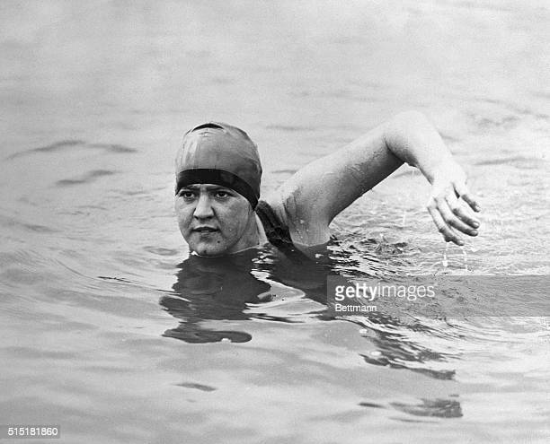 Less than a month before Gertrude Ederle became the first woman to successfully swim the English Channel