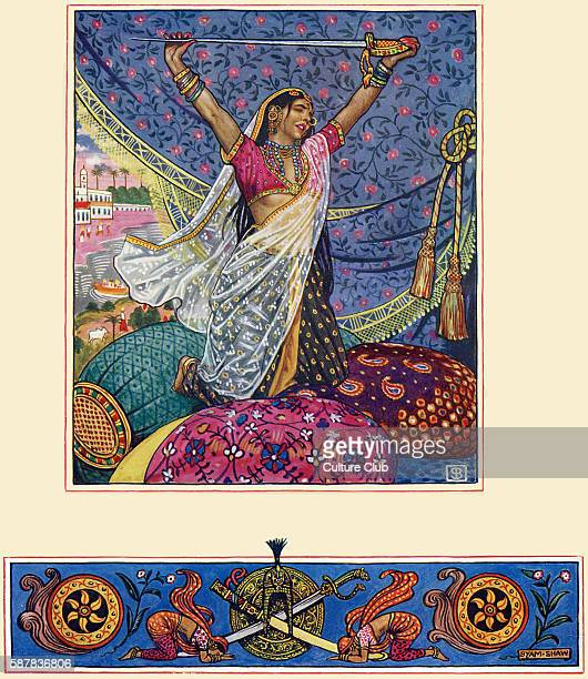 Less than the Dust poem from The Garden of Kama and other love lyrics from India by Laurence Hope First published 1901 Illustrated by Byam Shaw b...