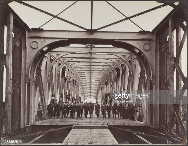 Lessart Viaduct on the Rance River October 1879 Albumen silver print from glass negative Image 369 x 476 cm Photographs Louis Lafon In April 1858 the...
