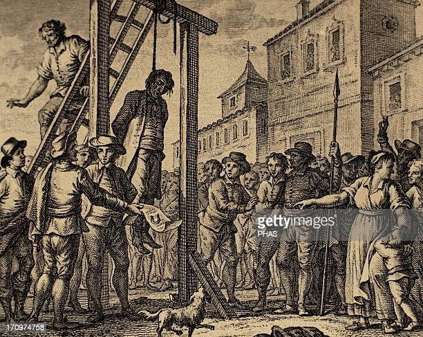 Lesser Antilles Grenada French occupation 17th century Uprising of the colonists against the tyranny of the governor sentenced to death by hanging...