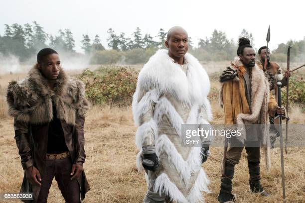 THE MAGICIANS 'Lesser Evils' Episode 209 Pictured Arlen Escarpeta as Prince Ess Leonard Roberts as King Idri