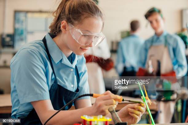stem lesson in school 3 - binary code stock pictures, royalty-free photos & images