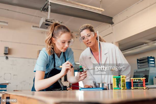 stem lesson in school - stem stock pictures, royalty-free photos & images