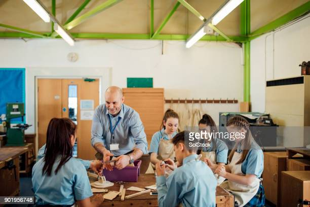 STEM Lesson In School Room