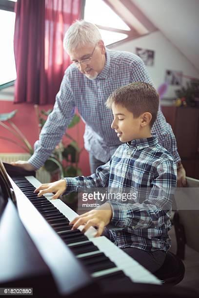 Lesson piano