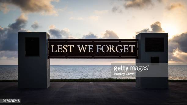lest we forget 1 - anzac soldier stock pictures, royalty-free photos & images