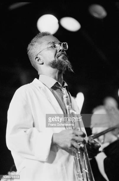 Lester Bowie, trumpet, performs at the North Sea Jazz Festival in the Hague, Netherlands on 15th July 1995.