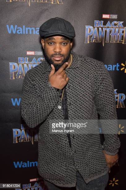 Lester 'Headkrack' Ruffin attends the Marvel Studios Black Panther advance screening at Regal Hollywood on February 13 2018 in Chamblee Georgia