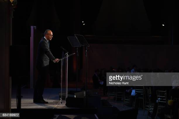 Lester Holt hosts Ellie Awards 2017 at Cipriani Wall Street on February 7 2017 in New York City