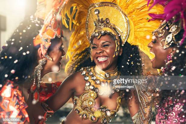 let her movement entertain you - carnival stock photos and pictures