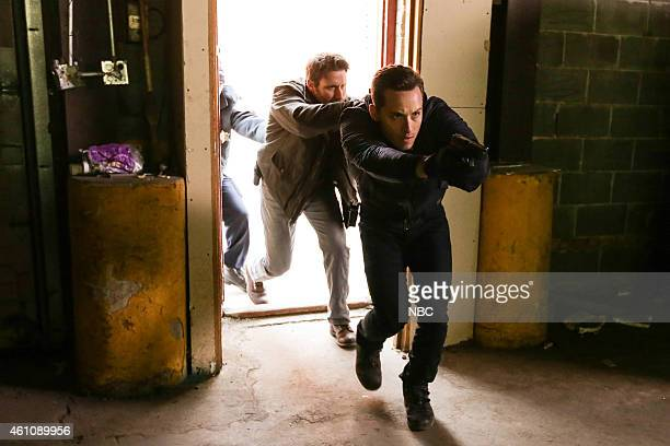 FIRE 'Let Him Die' Episode 311 Pictured Steve Lenz as Sean Jesse Lee Soffer as Jay Halstead