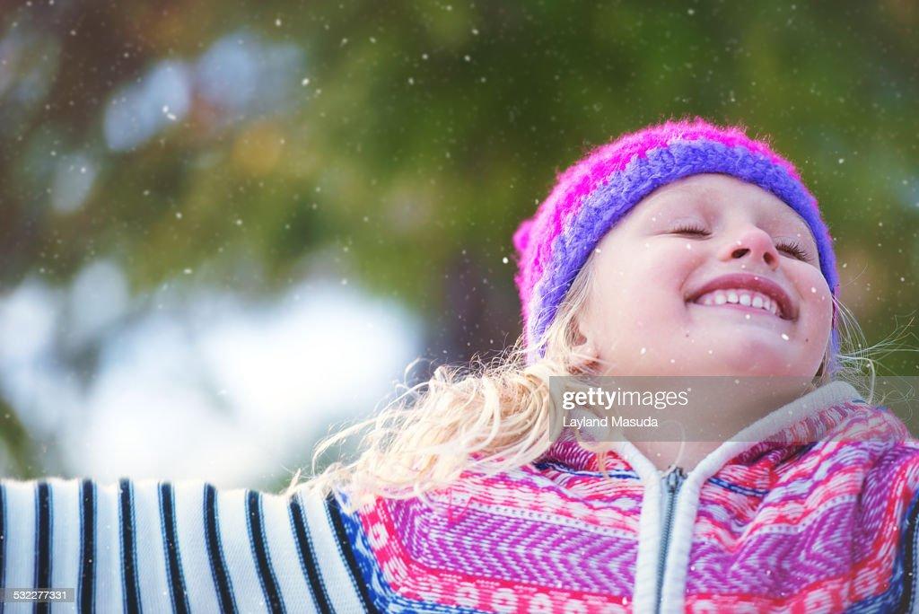 Let It Snow : Stock Photo