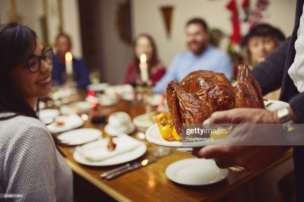 Let the feast begin : Stock Photo