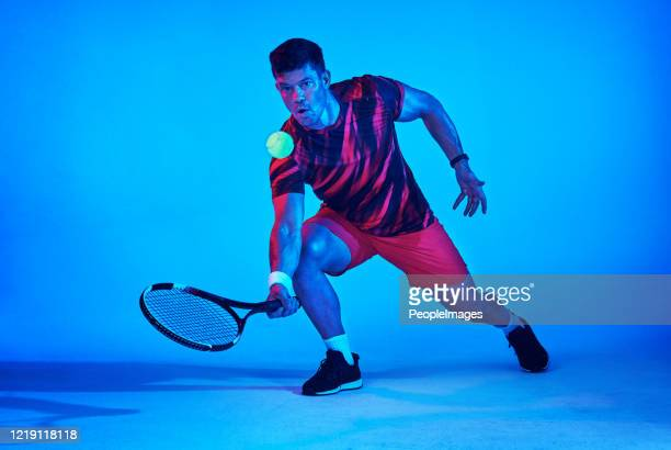 let the racket do the talking - tennis player stock pictures, royalty-free photos & images