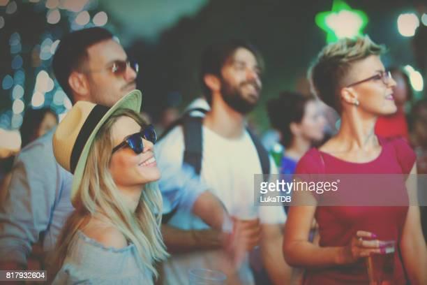 Lassen Sie den Sommer mit Musik-Festival beginnen
