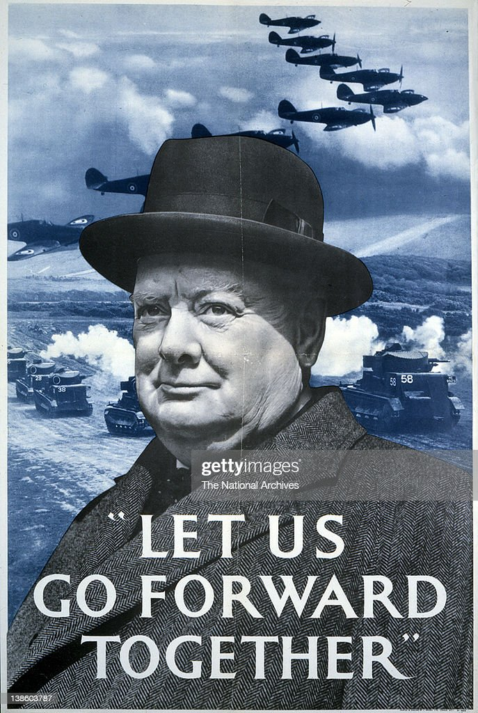 Let Us Go Forward Together (Churchill) WWII