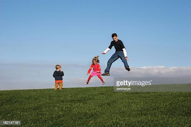 Wir zeigen Ihnen, wie Sie springen
