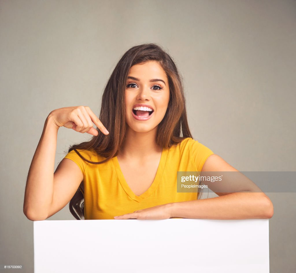 Let your message be seen : Stock Photo