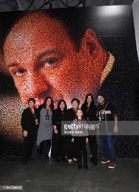 Leta Gandolfini Johanna Antonacci Deborah Lin GandolfiniMichael Mota and Liliana Ruth Gandolfini attend SopranosCon 2019 at Meadowlands Exposition...