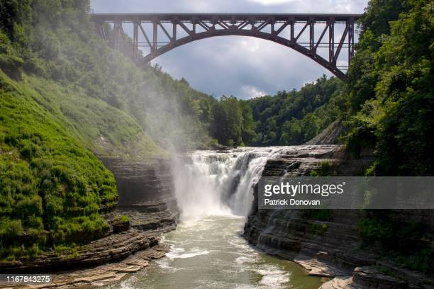 letchworth state park, new york - finger lakes stock pictures, royalty-free photos & images