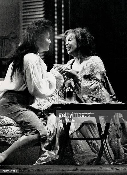 Letdown After 12 years the Canadian Opera Company has again staged Der Rosenkavalier starring Delores Ziegler left and Josephine Barstow with less...
