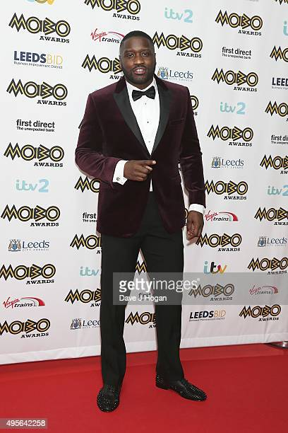 Lethal Bizzle attends the MOBO Awards at First Direct Arena on November 4 2015 in Leeds England