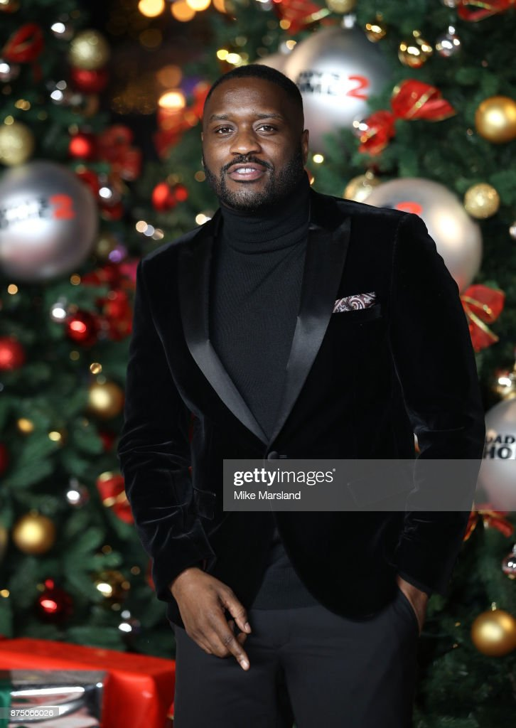 Lethal Bizzle attends the UK Premiere of 'Daddy's Home 2' at Vue West End on November 16, 2017 in London, England.
