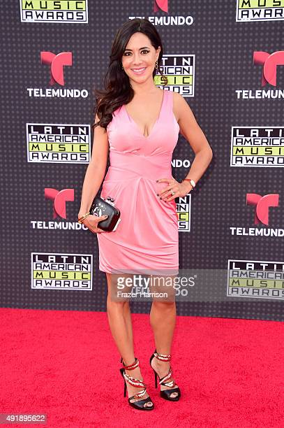 Leti Coo attends Telemundo's Latin American Music Awards at the Dolby Theatre on October 8 2015 in Hollywood California
