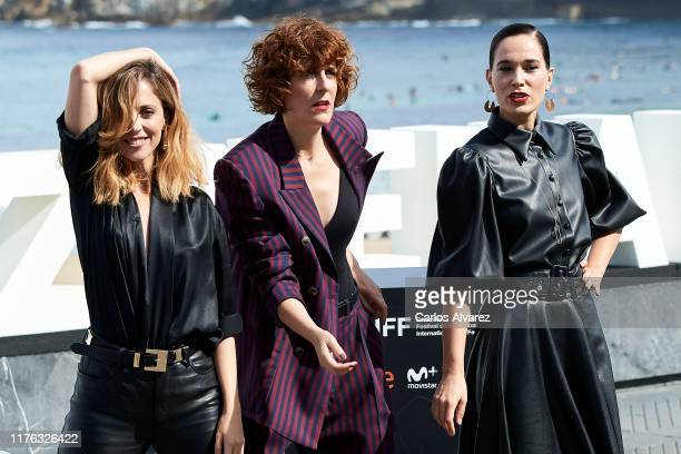 Leticia Dolera, Aixa Villagran and Celia Freijeiro attend 'Vida Perfecta ' photocall during 67th San Sebastian Film Festiva at Kursaal, San Sebastian...