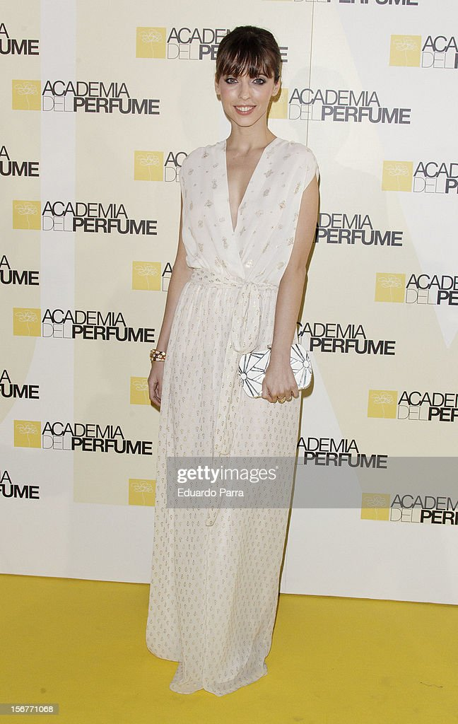 Leticia Dolera attends Academia del perfume awards photocall at Casa de America on November 20, 2012 in Madrid, Spain.