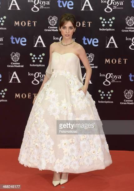 Leticia Dolera attends Goya Cinema Awards 2014 at Centro de Congresos Principe Felipe on February 9 2014 in Madrid Spain