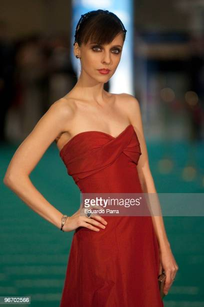 Leticia Dolera attends Goya prizes photocall at Madrid City Hall on February 14 2010 in Madrid Spain