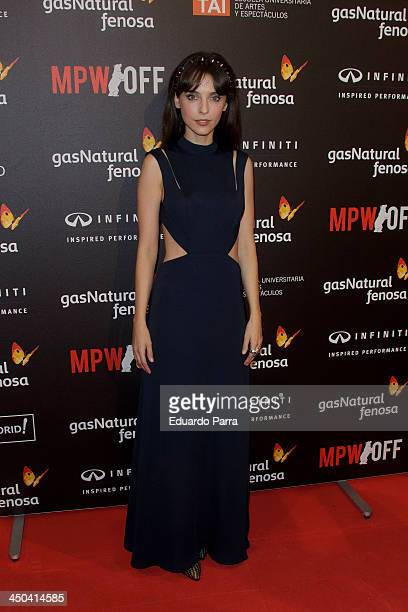 Leticia Dolera attends Madrid Premiere Week party photocall at Callao cinema on November 18 2013 in Madrid Spain