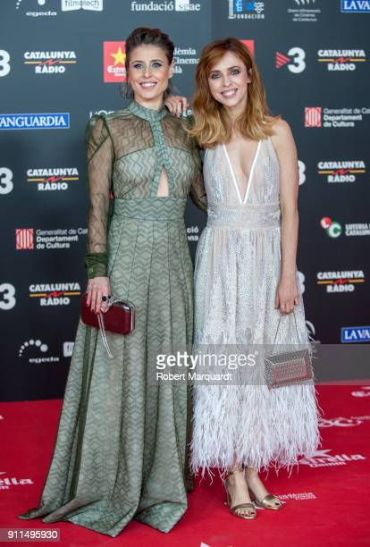Leticia Dolera attends the Gaudi Awards 2018 at the Forum CCIB Auditori on January 28 2018 in Barcelona Spain