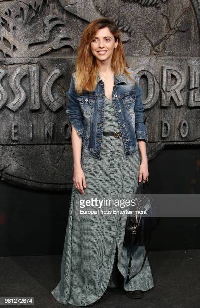 Leticia Dolera attends the 'Jurassic World Fallen Kindom' premiere at Wizink Center on May 21 2018 in Madrid Spain