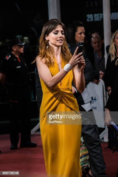 Leticia Dolera attends the red carpet of the closure gala during 65th San Sebastian Film Festival at Kursaal on September 30 2017 in San Sebastian...