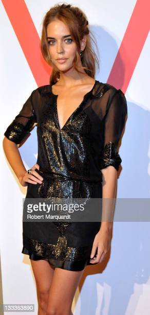 Leticia Dolera attends the V Magazine Spain Presentation Photocall at El Palauet on September 3 2009 in Barcelona Spain