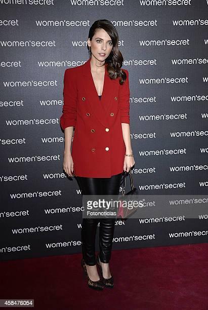 Leticia Dolera attends the Women Secret's 'Dark Seduction' fashion film premiere at Callao Cinema on November 5 2014 in Madrid Spain