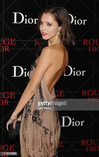 Leticia Dolera during Dior Gala Dinner in Madrid November 15 2006 at Stock Exchange Building in Madrid Spain