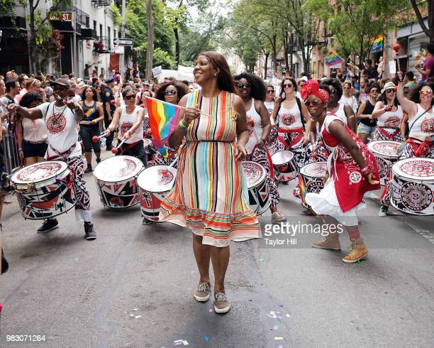 Letitia James attends the 2018 NYC Pride March on June 24, 2018 in New York City.
