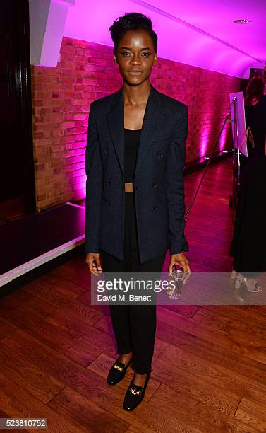 Letitia Wright arrives for the British Academy Television Craft Awards at The Brewery on April 24 2016 in London England