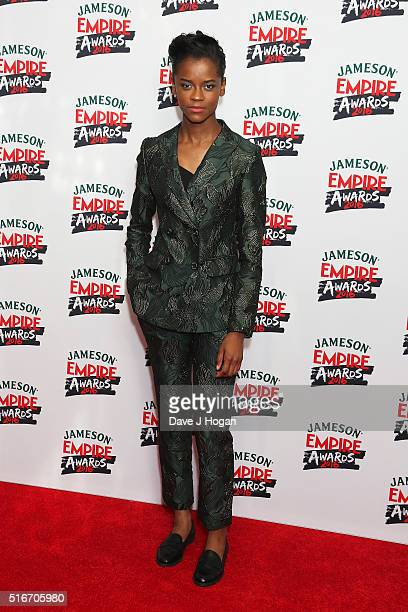 Letitia Wright attends the Jameson Empire Awards 2016 at The Grosvenor House Hotel on March 20 2016 in London England
