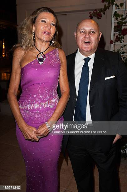 Letizia Vanni and Alfredo Galullo attend the 'Opera Romeo and Juliette' Gala to the benefit of the The Children for Peace association on October 26...