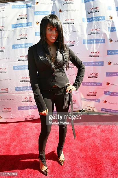 LeToya Luckett attend the Get Your Money Right Finanial Empowerment Seminar at the Hip Hop Summit sponsored by Chrysler Financial November 3 2007 in...
