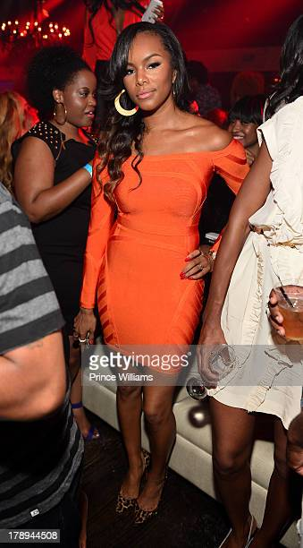 Letoya Luckett attends LudaDay Weekend Kickoff Hosted By Ludacris at Prive on August 30 2013 in Atlanta Georgia